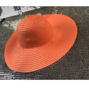 Orange Beach Hat O/S